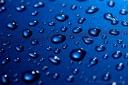 Rain on Blue