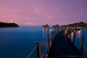 Likuliku Lagoon at Dawn