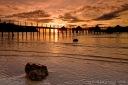 Likuliku Jetty Sunset