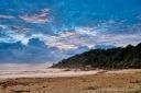 Sea Storm at Sunrise
