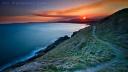 Path to a Fiery Sunset