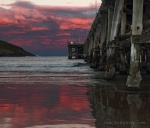 red-cloud-sunset-at-coffs-harbour-jetty