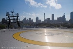 Ocean Shield Sydney Skyline From Helipad