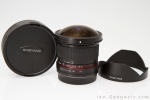 Samyang 8mm Fisheye Detachable Hood