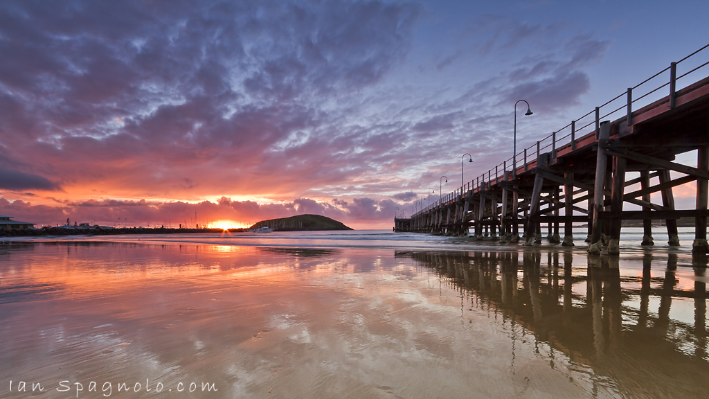 Coffs Jetty Marina Sunrise