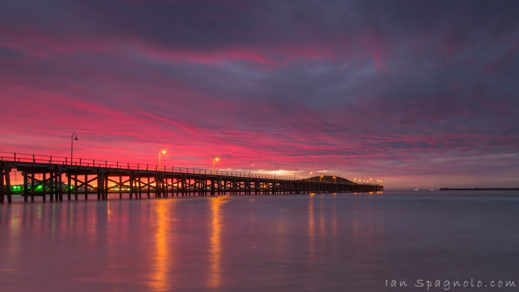 Pink Jetty Sunrise