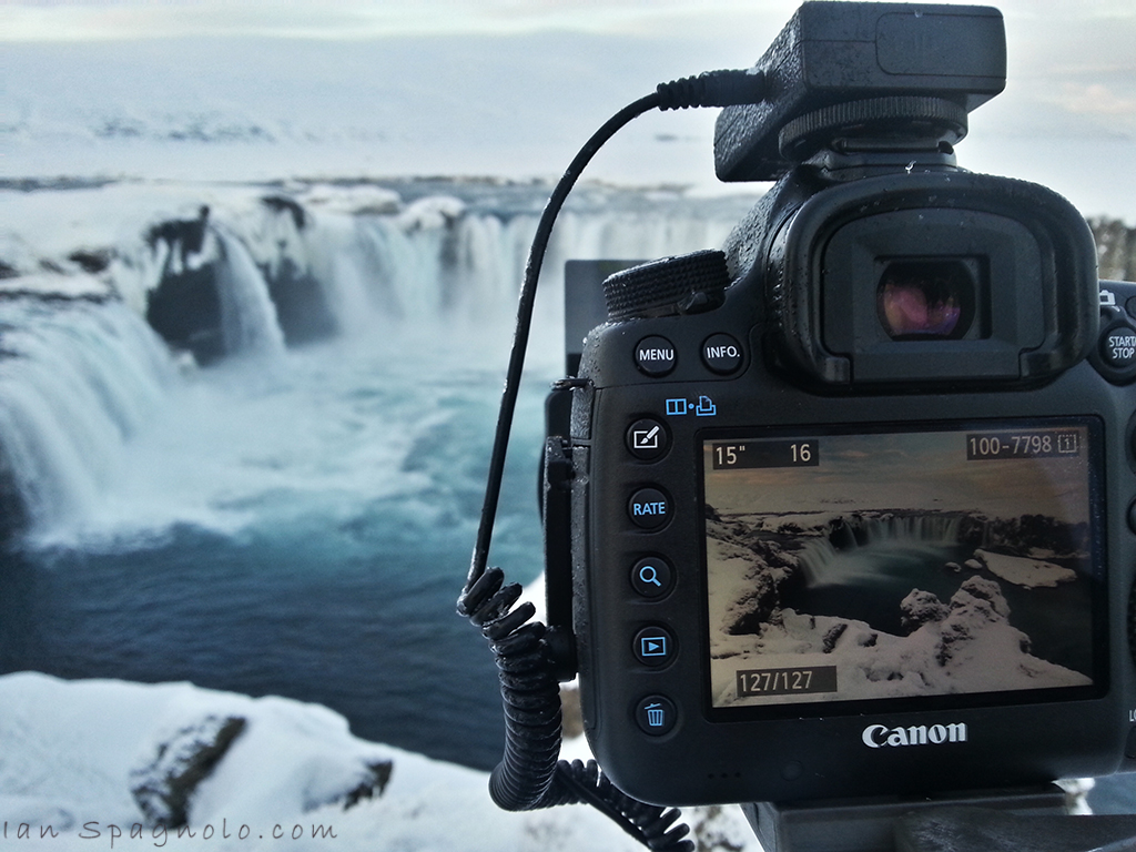 Sneak Peak of Goðafoss - Waterfall of the Gods